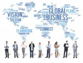 Global Business Concept — Stock Photo