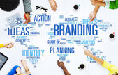 Concept of business Branding — Stock Photo