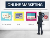Online Marketing Concept — Stock Photo