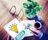 Concept of business ideas — Stock Photo
