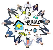 Business People and Insurance Policy — Stock Photo