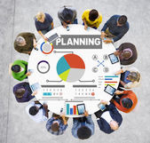 Concept of business Planning — Stock Photo