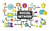 Social Media Networking Concept — Stock Photo