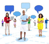 Golbal Communications Concept — Stock Photo