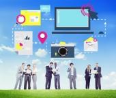 Social Network Concept — Stock Photo