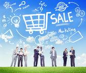 Verkoop Marketing Concept — Stockfoto