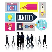 Identity Business Concept — Foto Stock