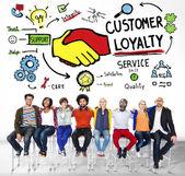 Customer Loyalty Concept — Stock Photo