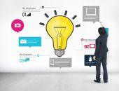 Koncepcja pomysły biznesowe — Zdjęcie stockowe