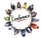 Diverse People  with Conference Concept — Stock Photo