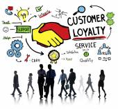 Концепция бизнеса лояльности клиентов — Стоковое фото