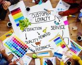 Concept of Customer Loyalty — Stock Photo
