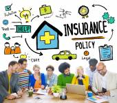 Business concept of Insurance — Stock Photo