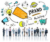 Brand Marketing Business Concept — Stock Photo