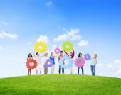 孩子们的团结概念 — 图库照片
