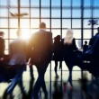 Airport Commuters Concept — Stock Photo #71582129