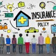 ������, ������: Diverse people and Insurance Policy
