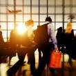 Airport Commuters Concept — Stock Photo #71583505