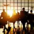 Airport Commuters Concept — Stock Photo #71584185