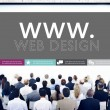 People and Www, Web Design, Web Page, Website Concept — Stockfoto #71584773