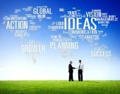 Koncept globální myšlenky — Stock fotografie