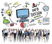 Content Creativity Concept — Stock Photo