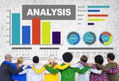 业务分析的概念 — 图库照片