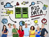 Big Data Business Concept — Stock Photo