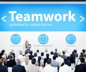 People on Seminar Teamwork Concept — Stock Photo