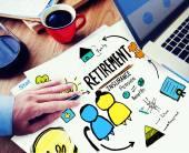 Concept of Retirement Insurance — Stock Photo