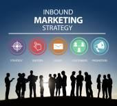 Inbound Marketing Concept — Stock Photo