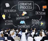 Creative Process Concept — Stock Photo