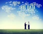 Büyük veri kavramı — Stok fotoğraf