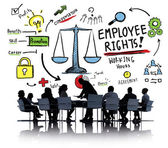 Employee Rights Concept — Stock Photo
