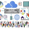People Togetherness Cloud Computing Concept — Stock Photo #71599589