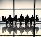 Business People Team at the Meeting — Stock Photo