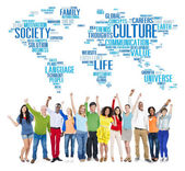 People and Culture Ideology Concept — Stock Photo