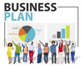 Group of People and Strategy Concept — Stock Photo