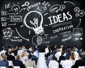 Business People at Seminar about Creativity — Stock Photo