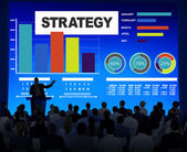 People at the seminar about Strategy — Stock Photo
