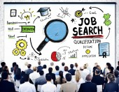 Multiethnic Business Group Job Search Seminar Conference Concept — Stock Photo