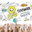 Group of hands and Teamwork Concept — Stock Photo #71627195
