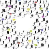 Diversity of Global Communication, Variation — Stock Photo