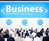 Business People at Design Seminar — Stock Photo