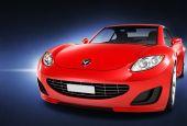 Car Automobile Contemporary — Foto Stock