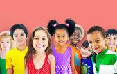Concepto de amistad de los niños — Foto de Stock