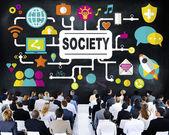People at seminar about Society — Stock Photo
