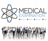 Diverse people and Medical Examination — Stock Photo