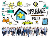 Business People and Insurance — Stock Photo
