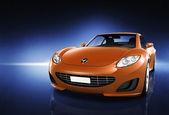 Comtemporary Luxury Car — Stock Photo